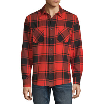 0734734e3 Mens Flannel Shirts, Flannel Shirts for Men - JCPenney