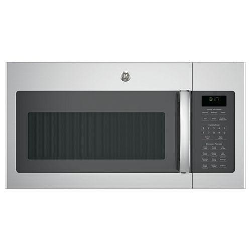 GE® Appliances 1.7 cu. ft. Over-The-Range® Sensor Microwave Oven