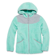 Vertical 9 Lightweight Fleece Jacket-Big Kid Girls