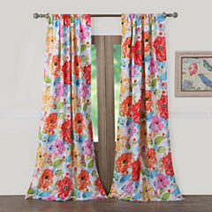 Barefoot Bungalow Esme Rod-Pocket Curtain Panel