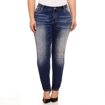 plus size jeans for women - jcpenney