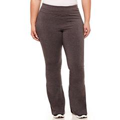 Xersion Jersey Yoga Pants-Plus