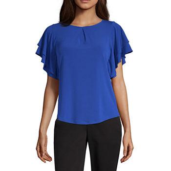 66b35d5b1fd18 Women's T-Shirts | V-Neck Shirts for Women | JCPenney