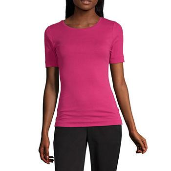 c1645e106fb0 Women's T-Shirts | V-Neck Shirts for Women | JCPenney