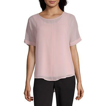2c282446f5733f Blouses for Sale | Shop by Color, Neckline & More | JCPenney