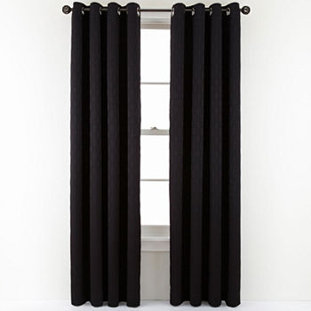 63 Inch Black Curtains Drapes For Window