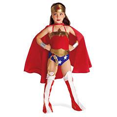 Wonder Woman 6-pc. DC Comics Dress Up Costume Girls