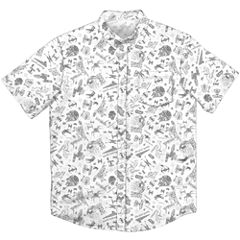 Short Sleeve Button-Front Shirt Boys