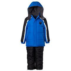IXTREME Color Block Snowsuit- Boys Toddler