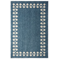 Mohawk Home Stacked Border Rectangular Rugs