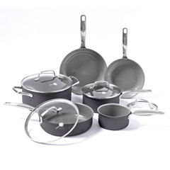 GreenPan Chatham 10-pc. Aluminum Dishwasher Safe Cookware Set
