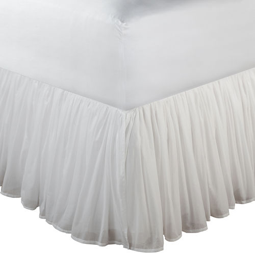 Greenland Home Fashions Voile 18 Bedskirt