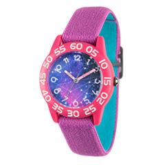 Discovery Kids® Purple Galaxy Watch