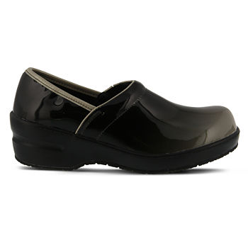 3f9fa55d61b81 Spring Step Professionals Neppie Womens Slip-On Shoes Elastic Closed Toe