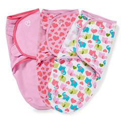 Summer Infant 3-pc. Swaddle Blanket