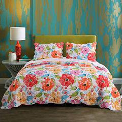Barefoot Bungalow Esme Floral Quilt Set