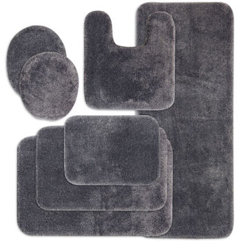 Gray Bath Rugs Bath Mats For Bed Bath Jcpenney