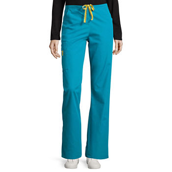 WonderWink® Origins 5026 Romeo Womens 6-Pocket Flare-Leg Pants - Tall - Plus & Plus Tall