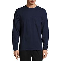 Stafford Long Sleeve Crew Neck T-Shirt-Tall