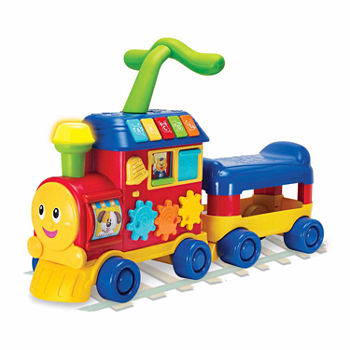 Winfun Walker And Ride-On Learning Train