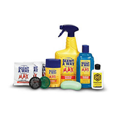 Scent-A-Way Max Odorless 10 Piece Kit