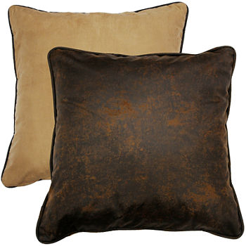 Faux Leather Pillows Throws For The Home JCPenney Adorable Jcpenney Decorative Throw Pillows
