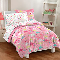 Dream Factory Pretty Princess Comforter Set