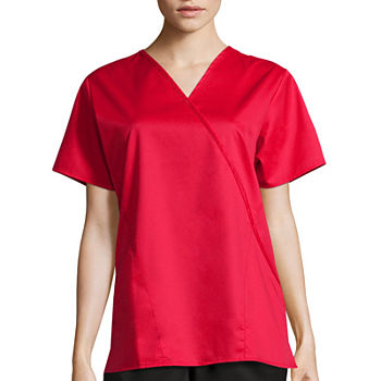 WonderWink® WonderWORK 102 Women's Mock Wrap Top