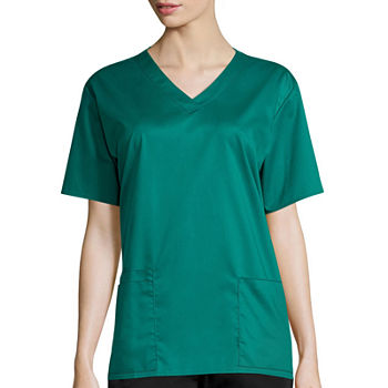 WonderWink WonderWORK 101 Women's V-Neck Top - Plus