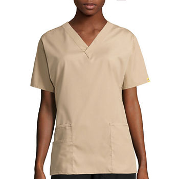 34c85714b1ce20 Scrub Tops Beige for Shops - JCPenney