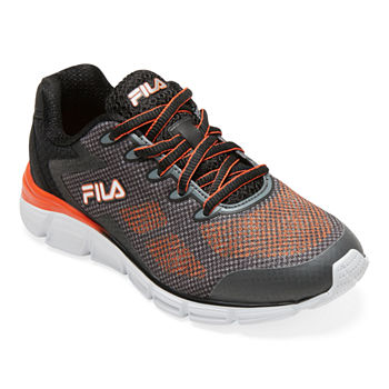 Fila Primeforce 3 Strap Big Kids Boys Running Shoes