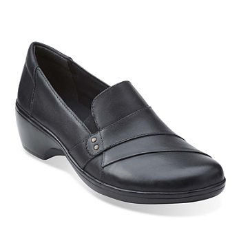 For Women Color And Buckle Flat Shoes Black