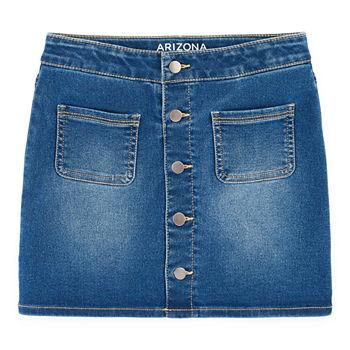 648bfad5 Arizona Midi Denim Skirt Preschool / Big Kid