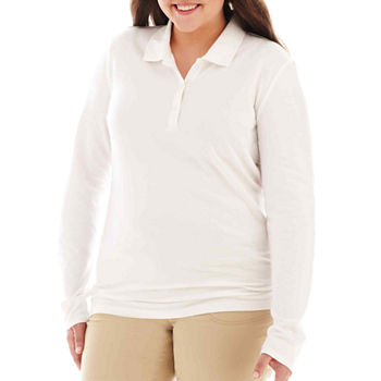 a52664bf4084c Polo Shirts Tops for Women - JCPenney