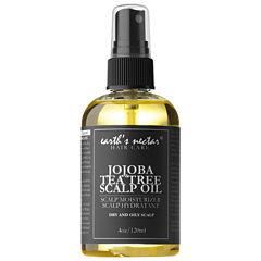 Earth's Nectar Jojoba & Tea Tree Scalp Oil
