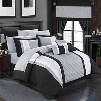 oversized extra black bedding bed sets and shop crys htm comforter p long rev king xl white bw micro