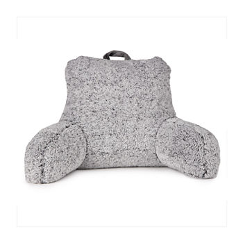 Strange Home Expressions Sherpa Back Bed Rest Pillow Machost Co Dining Chair Design Ideas Machostcouk