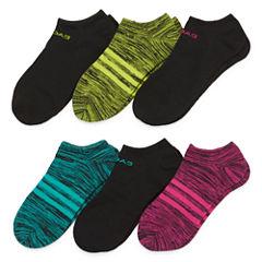 adidas® 6-pk. Superlite Marled Socks