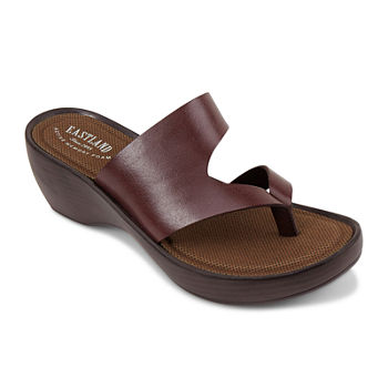 1c4c01112116 Eastland Wedge Sandals Women s Sandals   Flip Flops for Shoes - JCPenney
