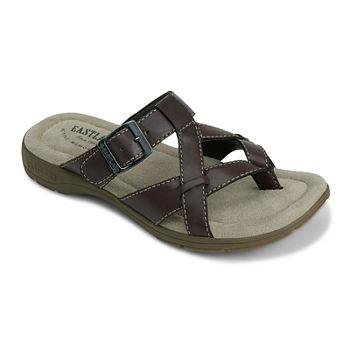 6e25e30b41a8 Flat Brown Women s Sandals   Flip Flops for Shoes - JCPenney