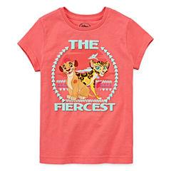 Disney Collection Short-Sleeve The Lion Guard Fierce Tee - Girls 7-16