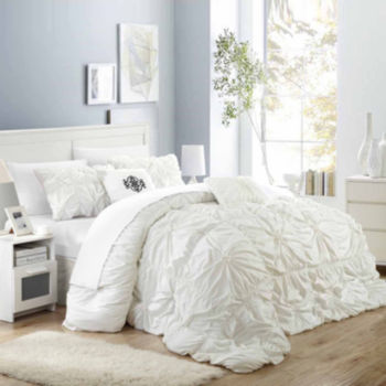 Beautiful White Comforters & Bedding Sets for Bed & Bath - JCPenney ZL23