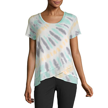 935c32a2 Tie Dye T-shirts Tops for Women - JCPenney