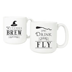 Cathy'S Concepts Witches Brew 20-Oz. Large Coffee Mug Set