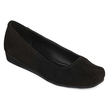1d99b359001 Black Women s Flats   Loafers for Shoes - JCPenney