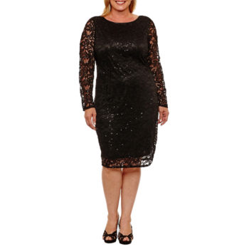 Plus Size Long Sleeve The Wedding Shop For Women Jcpenney