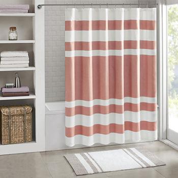 Orange Shower Curtains For Bed Bath
