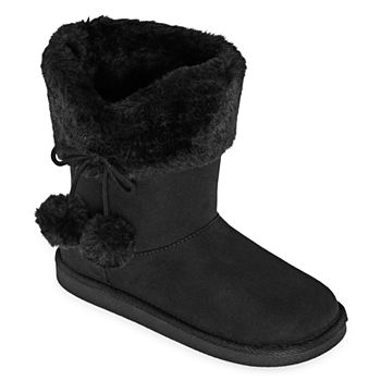 fur boots for girls