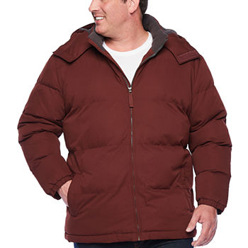 The Foundry Big & Tall Supply Co. Water Resistant Heavyweight Puffer Jacket Big and Tall
