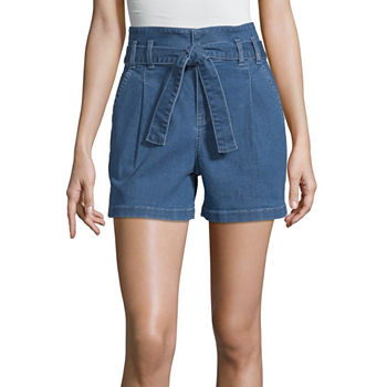 cf33be64a9 Denim Shorts Shorts for Women - JCPenney